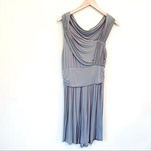 LinQ Grecian Goddess Boutique Drape Dress